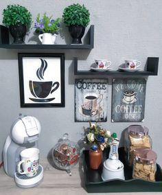 Cantinho do café: 71 ideias incríveis para você organizar o seu (FOTOS)