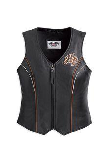 Harley-Davidson® Womens Juneau Leather Vest - want it!!