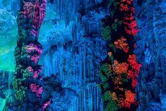 Caverna Colorida China.
