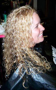 Curly hair / perm hair