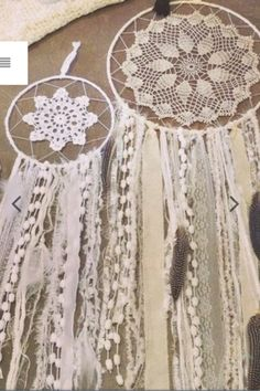 Beautiful bohemian dream catchers - The White Bohemian