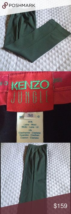 Kenzo Slightly used, still in great condition ,like new! Kenzo Pants Straight Leg