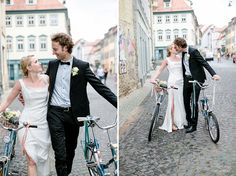 Erfurt Weg zum Standesamt Bike Wedding, Coat, Jackets, Fashion, Bicycle Wedding, Erfurt, Down Jackets, Moda, Sewing Coat