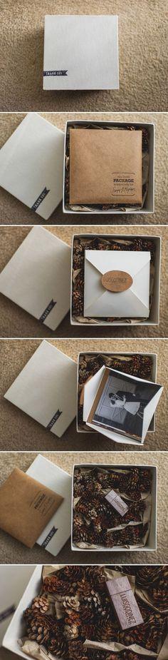Wzór wypełnienia!!! Szyszki plus pomięty papier w kartoniku - efekt zabija!!!