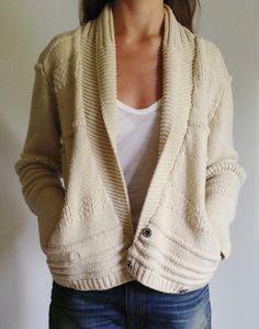 Isabel Marant Etoile Cream Off White Shawl Neck Collar Kenzie Cardigan | eBay