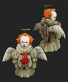 """angel"" Pennywise"
