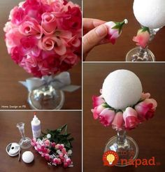 56 How to Make DIY Crafts Tutorials to Sell Dollar Stores Are you looking for how to make DIY crafts tutorials to sell dollar stores? See our collection full of how to make DIY crafts tutorials to sell dollar stores and get inspired! Dollar Store Crafts, Dollar Stores, Dollar Items, Dollar Store Decorating, Holiday Decorating, Decorating Ideas, Diy Y Manualidades, Fleurs Diy, Creation Deco