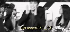 SeungRi cheering for GD hahah | We Heart It #BigBang