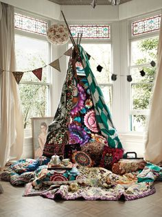 In love with the patterns! Pillows blankets and THAT LANTERN! !! i need the blanket!!!