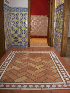 azulejos rusticos baño - Buscar con Google