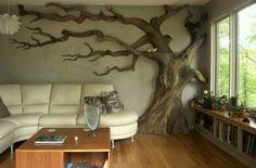Un albero in salotto