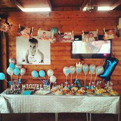 Primer cumpleaños Girl Birthday Themes, Girl Themes, 1st Birthday Girls, First Birthday Parties, First Birthdays, Monster 1st Birthdays, Baby Time, Party, Baby Photos