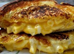 Double grilled cheese sandwich!