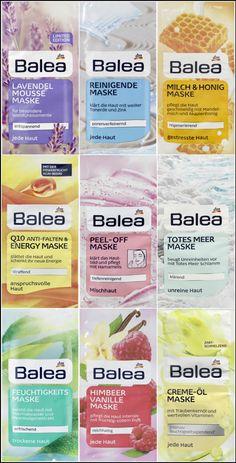 £ GBP - Balea - Beauty Face Mask / Masque - 12 tastes to choose from . - £ GBP - Balea - Beauty Face Mask / Masque - 12 tastes to choose from . Beauty Care, Beauty Makeup, Face Mask Peel Off, Dm Balea, Perfect Posture, Lip Care, Sephora, Germany, The Originals
