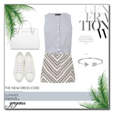 """""""Relax."""" by zeljkaa ❤ liked on Polyvore featuring MANGO, Yves Saint Laurent, Michael Kors, Warehouse, Bling Jewelry and Marc Jacobs"""