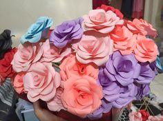 Bunga kertas, simple tapi gemey🌸