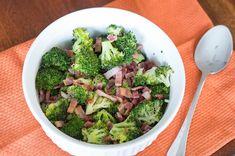 Roasted Broccoli with Bacon via @NeliHoward