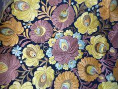vintage matyo embroidery