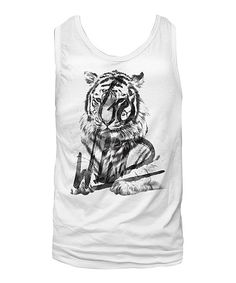 Look at this American Classics White 'Go Wild' Tank - Women on #zulily today!