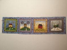 Debbie Mumm 4 Seasons Homes Fabric Panel by KoopsKountryKalico, $4.99
