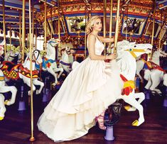 This Disneyland Photo Shoot is Pure Wedding Dress Magic   Fashion   Disney Style