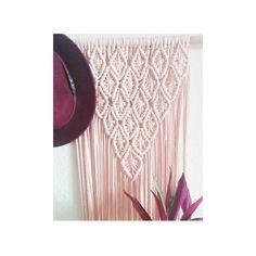 153 отметок «Нравится», 22 комментариев — MacrameMimi Handmade (@macrame_mimi_) в Instagram: «M A C R A ME «Primera parte «color rosa palo «trapillo #macramewallhanging #macrame #home…»