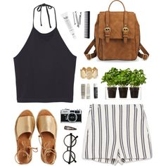 Days are good, and that's the way it should be... by diegolohve on Polyvore featuring Monki, Zara, Kaanas, philosophy, Korres, GHD, Boskke, BOBBY and Chapstick