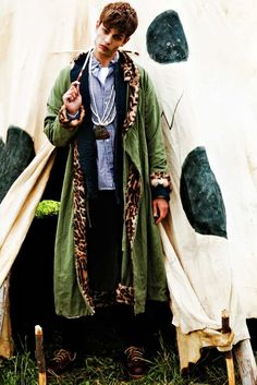 Hipster Camping Editorials : TEXT in visvim editorial
