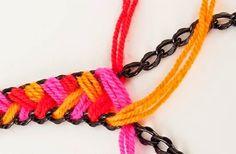 blog de decoração - Arquitrecos: Colar de crochet lindo e fácil de fazer!