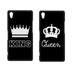King Queen Coque Cover Case for iPhone 4 4S 5 5S SE 5C 6 6S Plus Touch 5 SONY Xperia Z Z1 Z2 Z3 Z4 MINI M2 M4 C3 C4 C5 T2 T3