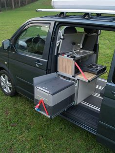 kitchen pod vw T5. CLICK the PICTURE or check out my BLOG for more…
