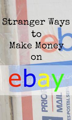 Stranger Ways to Make Money on eBay | The Skint Dad Blog