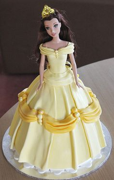 "Belle Dolly Varden ~ Say it with Cake (I do not normally like ""doll cakes"" but this one is beautifully decorated."