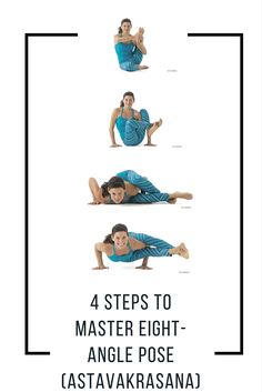 Play with balance and strength as you move step by step into Astavakrasana.