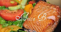Scarsdale Diet Recipes: Baked Salmon Fillet