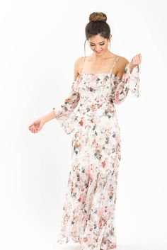A girl can never have too many floral maxi dresses, especially for when the weather gets warmer! We love how...