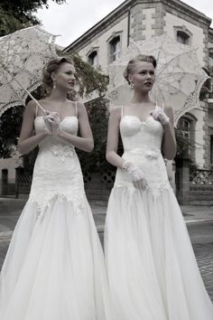 Galia Lahav #Vintage wedding inspired dresses www.finditforweddings.com