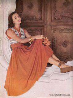 Fashion Flashbacks-1948 Spring Style Trends | Vintage Style Files