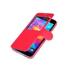 Funda Book Samsung Galaxy S5 Nillkin Fresh Series Roja $ 283.00