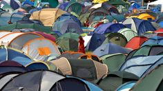20 Camping Hacks To Get The Most Out Of Your Music Festival Experience. I like the balloon above the tent. Fill it will glow sticks and you're good to go!