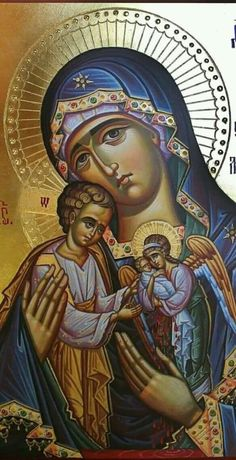 Simply Orthodox ☦You can find Orthodox icons and more on our website. Orthodox Catholic, Orthodox Christianity, Catholic Art, Religious Icons, Religious Art, Madonna, Mary Magdalene And Jesus, Faith Of Our Fathers, Christian Artwork