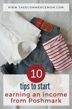 """""""Want to start reselling clothing or start a reselling business? Selling on Poshmark may be perfect for you! Here are my best Poshmark tips to help you get started. Make Money Online, How To Make Money, Square Photos, Baby Steps, Debt Payoff, Sell On Amazon, Selling On Poshmark, Selling On Ebay, Selling Online"""
