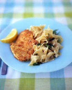 Chicken Schnitzel - Martha Stewart Recipes