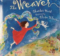 """The Weaver"" by Thacher Hurd was my inspiration for this project. 3rd Grade students learned about weaving, folk art and expressive..."