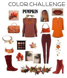 """Pumpkin spice..."" by loveu88 on Polyvore featuring Proenza Schouler, Gianvito Rossi, MAC Cosmetics, Dickins & Jones, Humanoid, Dooney & Bourke, Gestuz, Kendra Scott, Liberty and NOVICA"