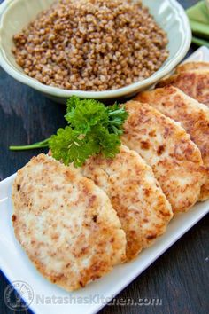 """These dreamy chicken kotleti or patties are so soft and tasty. Yes, chicken can be dreamy. Our son loved them too. He called them """"big chicken nuggets"""" :)"""