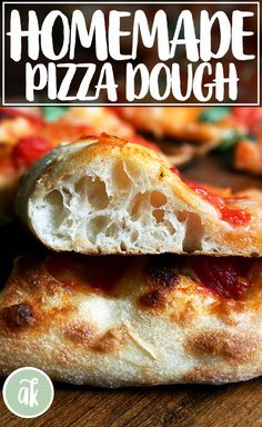 The Baking Steel creates a pizza with a crispy crust and ballooned and blistered outer edge. These two pizza recipes are simple and delicious! Pizza Recipes Homemade Dough, Best Pizza Dough Recipe, Italian Pizza Dough Recipe, Pizza Dough With Yeast, Bread Flour Pizza Dough, Neapolitan Pizza Dough Recipe, No Knead Pizza Dough, Homemade Recipe, Crust Recipe
