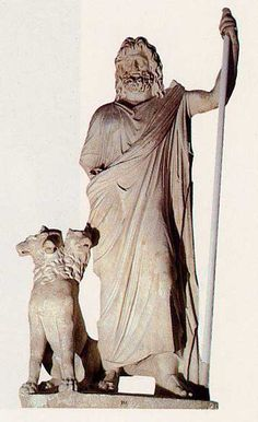 Hades, king of the Underworld, and his dog, Cerberus! Don´t mess up with this keeper, one of the most interesting parts of greek mythology Greek Gods And Goddesses, Greek And Roman Mythology, Ancient Aliens, Ancient Rome, Greek Underworld, Roman Gods, Tony Abbott, Hades, Cerberus