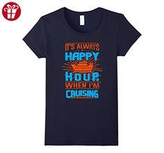 850087682cd09 Women's Happy Hour When I'm Cruising T Shirt, I'm Cruising T Shirt Large  Navy (*Amazon Partner-Link)
