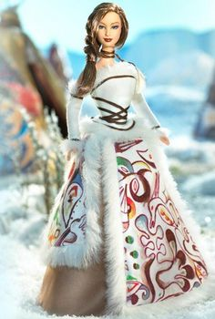 Exquisite and Beautiful: Inuit Legend Barbie Doll